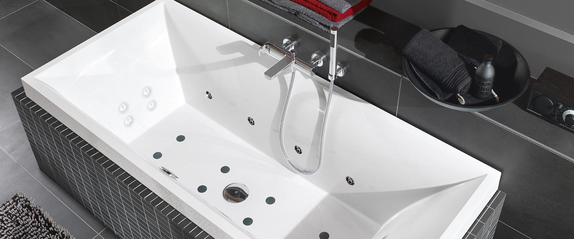 Die passende badewanne h chstes ma an individualit t - Villeroy und boch badewanne whirlpool ...
