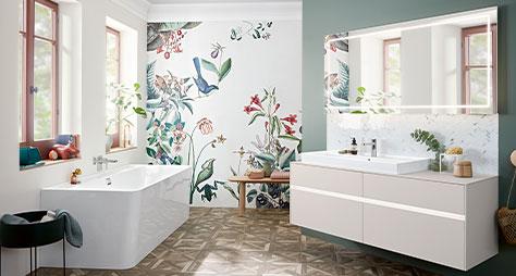 Wie Hoch Sind Die Kosten Fur Ein Neues Badezimmer Villeroy Boch