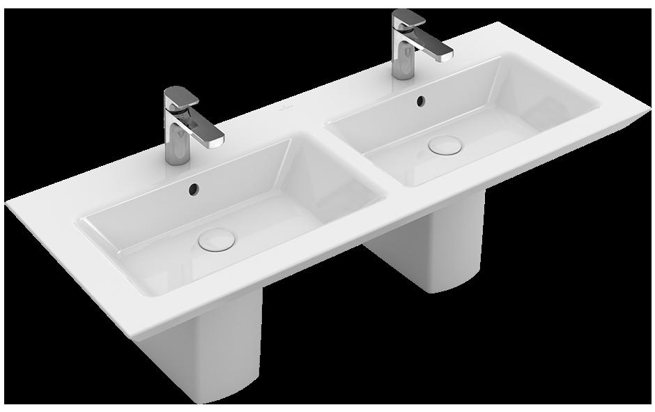 legato schrank doppelwaschtisch eckig 4150d1 villeroy boch. Black Bedroom Furniture Sets. Home Design Ideas