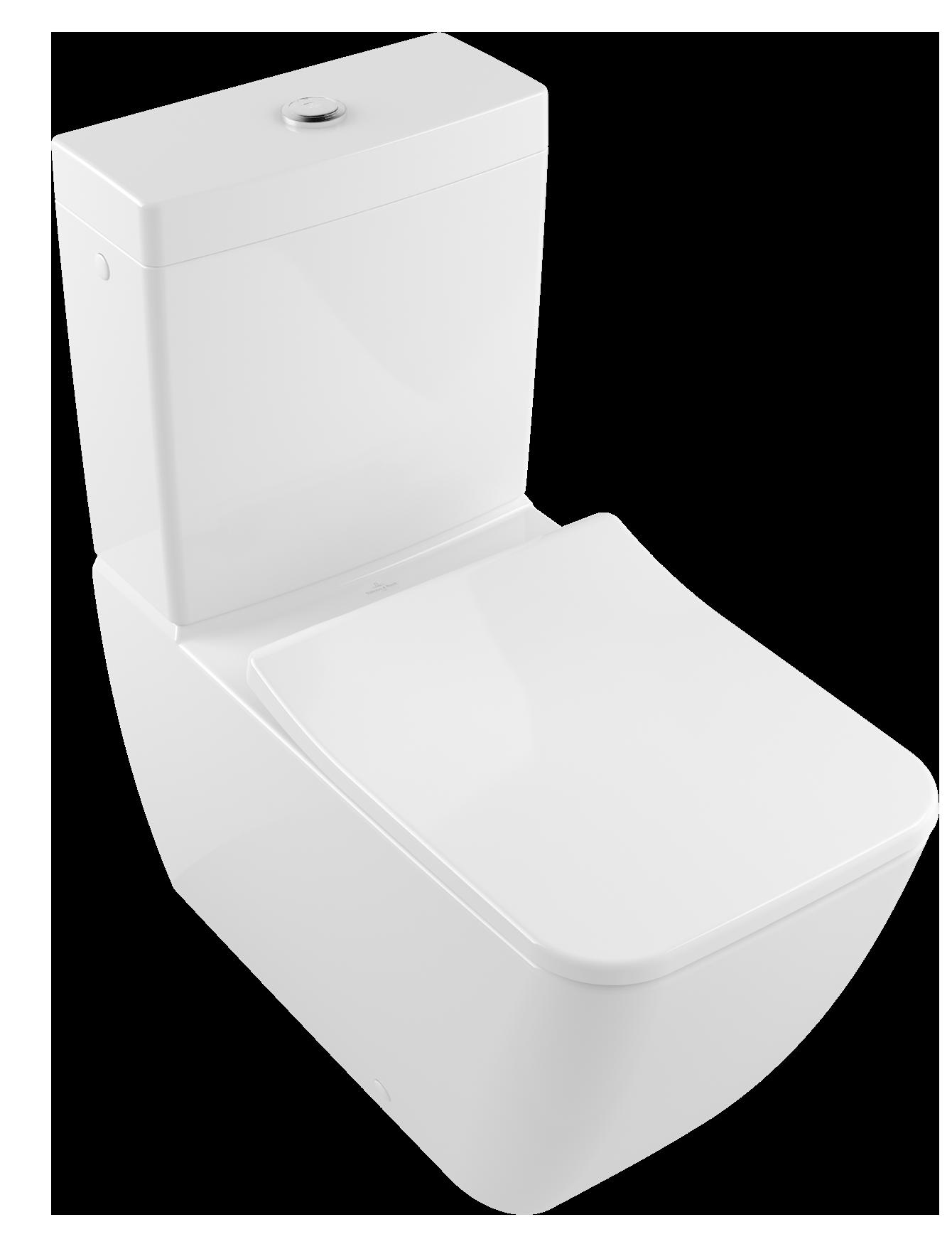 Badewanne Dusche Kombination Villeroy : Close Coupled WC